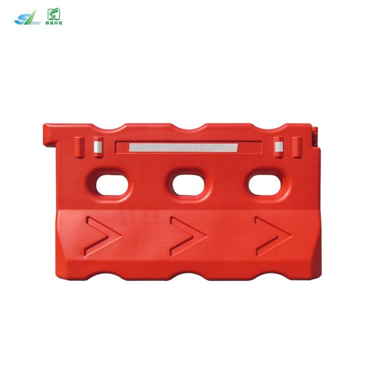 750 mm three holes road safety plastic temporary water barrier