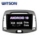 WITSON Android 10.0 Touch Screen Car DVD For HYUNDAI 2008-2010 Elantra 4GB RAM 64GB FLASH BIG SCREEN in car dvd player