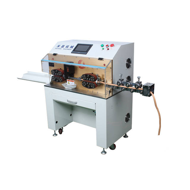 HC-608L Suits for sensor industry cable computer wire cutting stripping machine