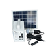 20w mini home solar power system solar home lighting kit with Solar Panel