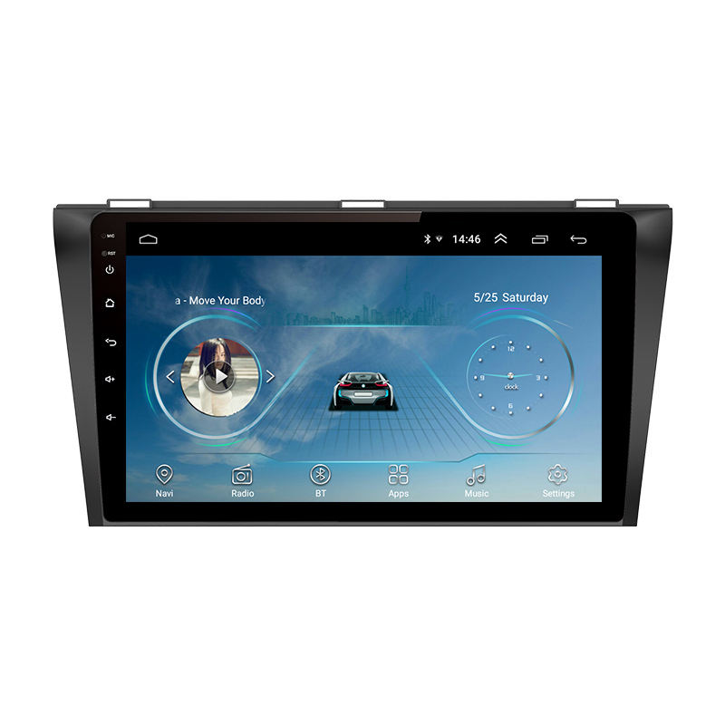 9 Inch Car Navigation FM Radio Bluetooth Wifi 1GB+16GB Car MP5 Player for Mazda 3 2004/2005/2006/2007/2008/2009