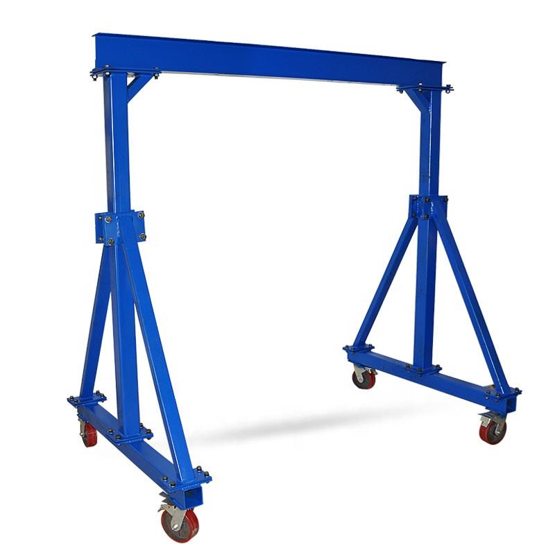 Hot sale small warehouse used portable mini mobile lifting gantry crane Gantry Cranes 1T H2M W2M