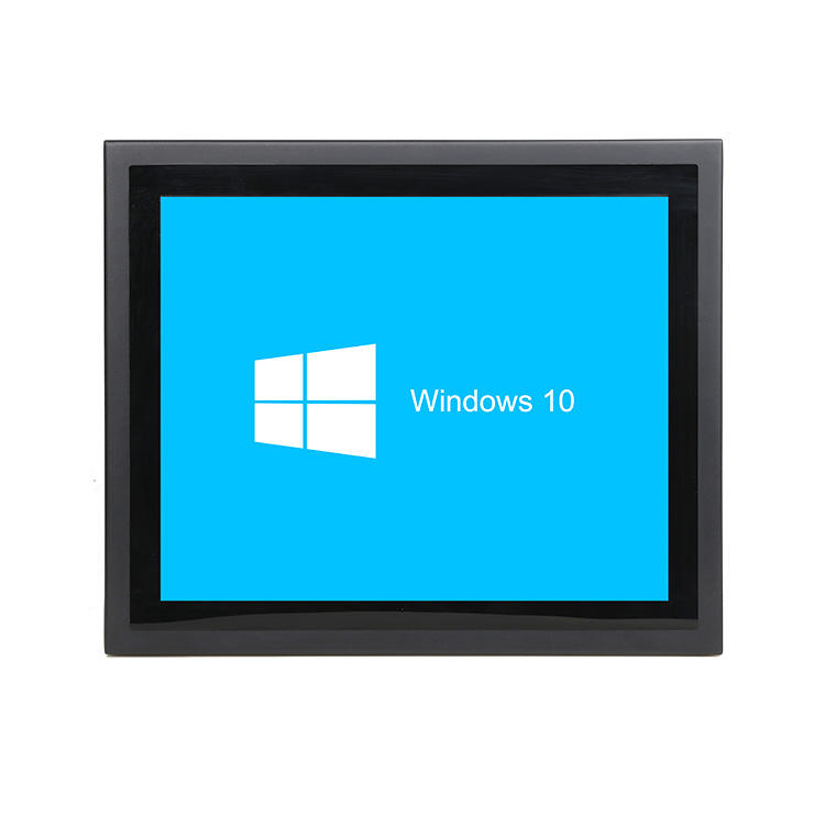 17 inch win10 Linux touch screen industrial Panel pc Open Frame Industrial Embedded All in One touch screen PC