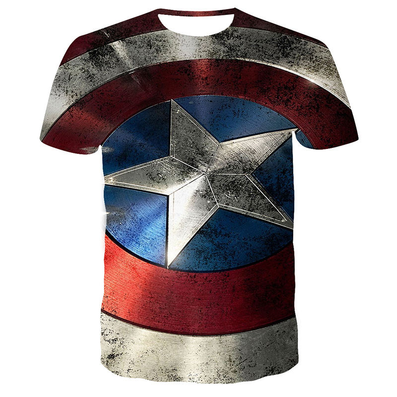 Summer Marvel Super hero SuperHero T Shirt Men 3D Print Men T-Shirt Short Sleeve Tshirt Fitness Top Tee Shirt
