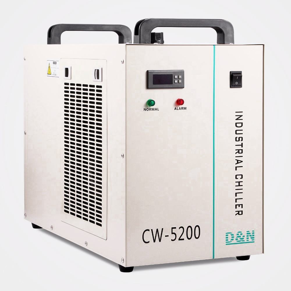 CW-5200DG Industrial Water Chiller for CNC/ Laser Engraver Cooling Machine