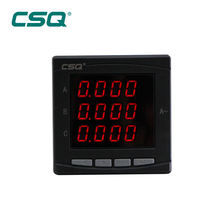 good price 380v single phase display AC led digital ammeter CE CB analog panel ammeter digital analogic 12v manufacturer