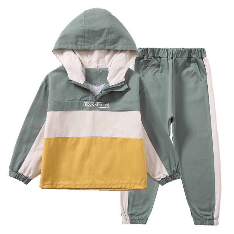 DRDDJN1909B1256 2019 Autumn New Launched Boy Sport Clothes Kids Clothes Set Fashion Design Children Clothing Sets