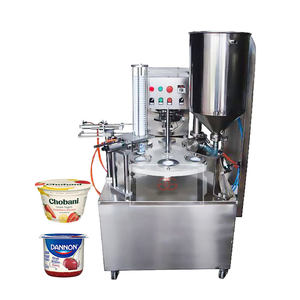 Factory Price Automatic Yogurt K Water Ice Cream Juice Honey Cup Form Filling Seal Machinery Yogurt Packaging Machine