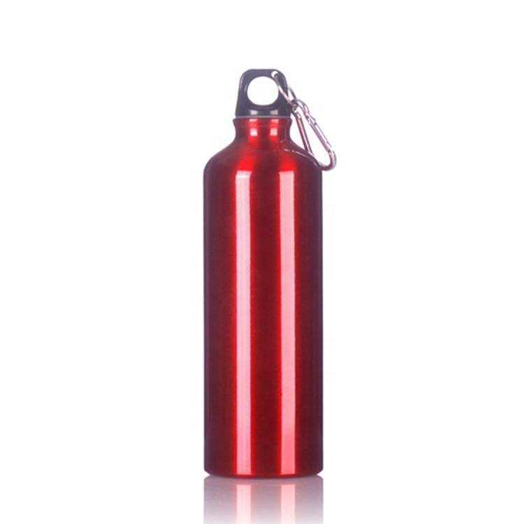Outdoor Sports Portable Aluminium 750ml Keep Hot Vacuum Thermal Insulated Water Bottle