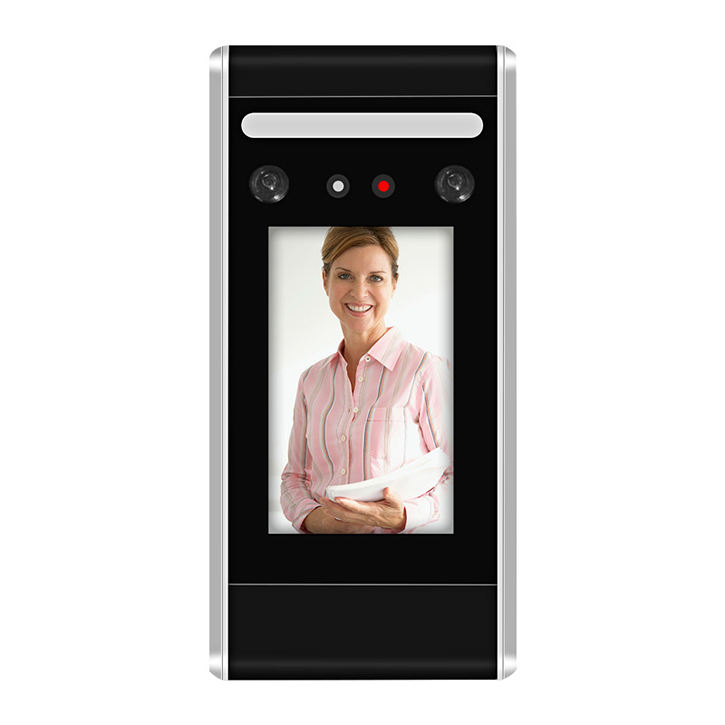 SMES 4.3 Inches Display Smart touch screen Facial Time attendance device face recognition door access control system machine