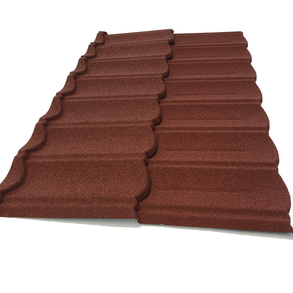 JH-ROOF factory wholesaleVilla building material colorful stone coated steel shingles roofing sheet price in kerala / roof sheet