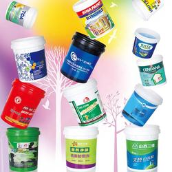 paint pail heat transfer printing plastic bucket heat transfer sticker