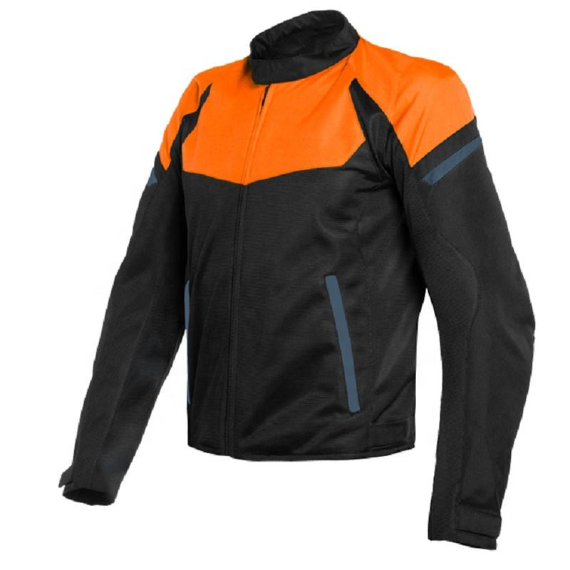 Mesh Vented CE Certificated Motorcycle Protective Jacket Textile Breathable Biker Jacket