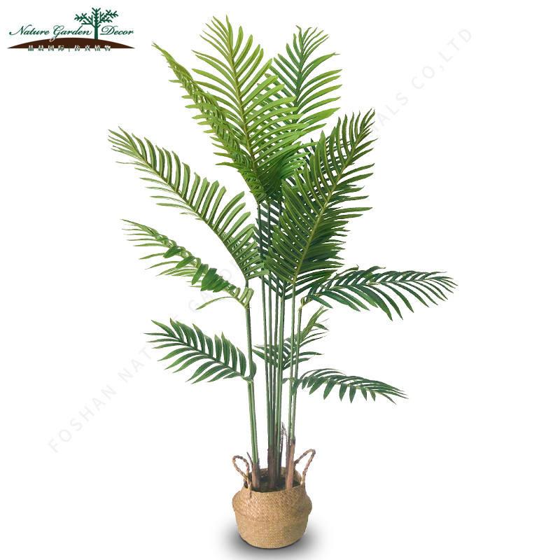 新加入植物モデル葉屋外ヤシの木の人工