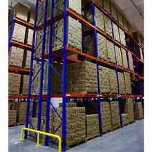 Third-party logistics apparel grocery warehouse storage pallet rack