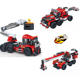 COGO Building Blocks bricks 3 in 1 engineering repair vehicle legoing for kids toys