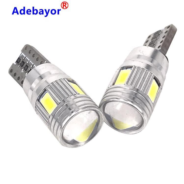 T10-5630-6 Automatique Lumineuse <span class=keywords><strong>Superbe</strong></span> de Lampe Inverse W5W 194 501 <span class=keywords><strong>Largeur</strong></span> Feux De Voiture Led Ampoules Canbus Erorr Gratuit