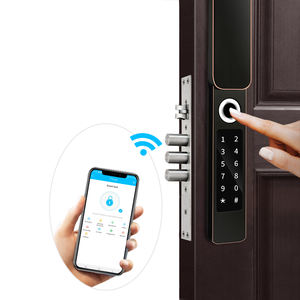 Buon produttore di Sicurezza anti-furto bluetooth App mobile Keyless Elettronico wifi password di impronte digitali porta di smart serrature