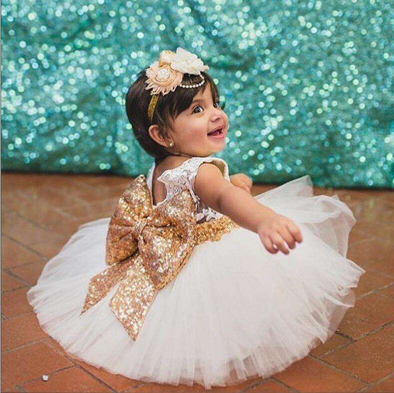 wholesale children clothes summer kids Evening casual birthday girl party dress for baby