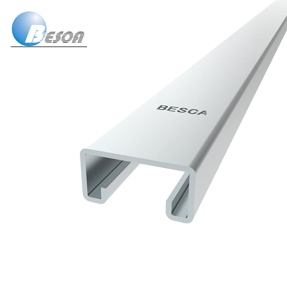 Besca Galvanised Galvanized Framing Metal Strut Channel In Frame Steel Channels