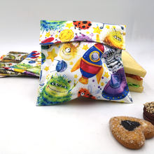 Wholesale Reusable Natural Organic Cotton Pul Waterproof Fabric Sandwich Bag