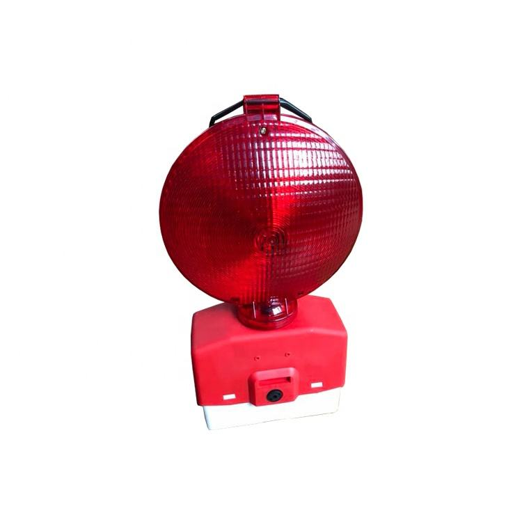 Traffic warning light Roadway safety red Led Flashing Solar Traffic Light