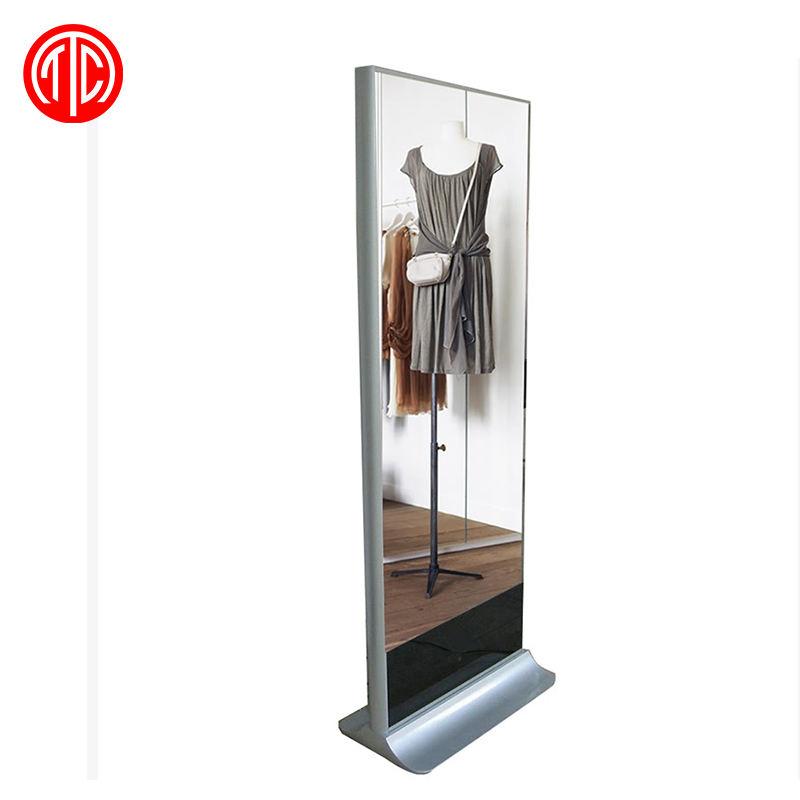 Il Prezzo di fabbrica Moderna specchio stand-alone digital signage intelligente specchio 4k hd specchio magico display <span class=keywords><strong>lcd</strong></span> monitor di Pubblicità centro commerciale