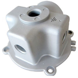 Die cast parts Aluminum and Zinc Alloy Die Casting for Motor Housing, and Other Machine/Mechanical Metal Parts