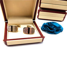 New wholesale high quality hot wholesale shirt men cufflinks