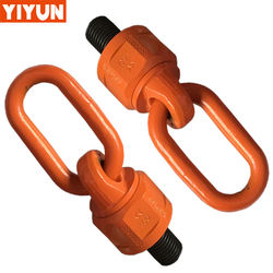 Philippines economical lifting point Grade 80 Swivel Eye Bolt with Ring G80 Hoist Ring