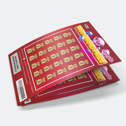 Benutzerdefinierte Gewinnen Scratch Offs Lotterie Karten Druck Scratch Off Instant Lotto Lotterie Ticket In China