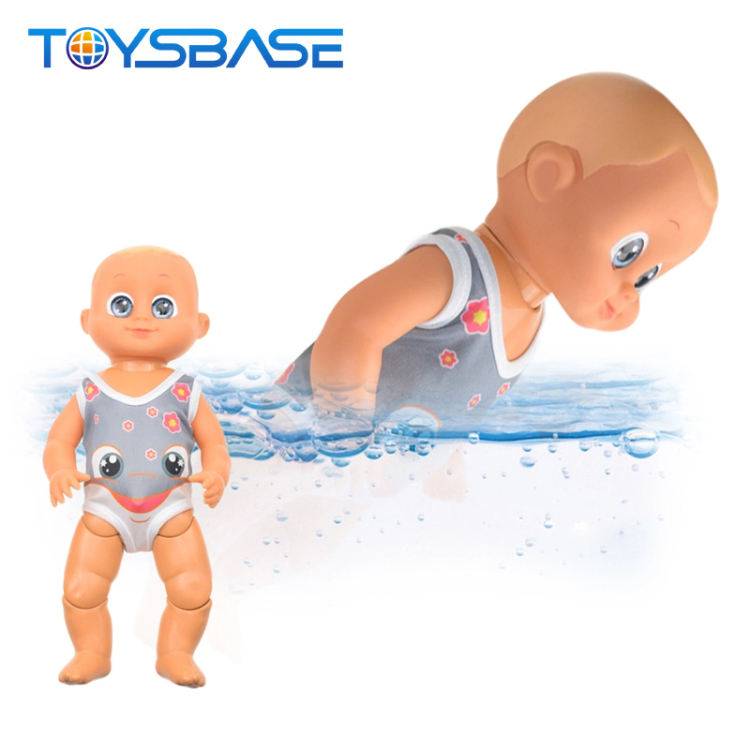 Funny Waterproof Reborn Girl Toy Electric Swimming Baby Doll
