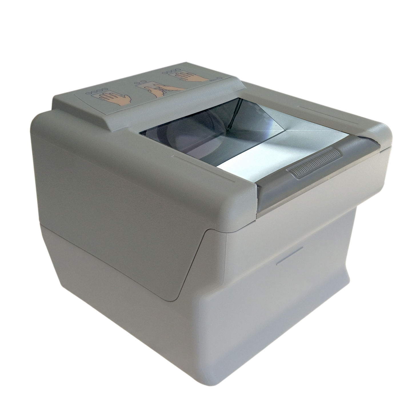 Portable biometric mobile enrollment kit 10 fingerprint scanner voting application