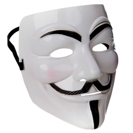 Guy Fawkes Halloween Costume V for Vendetta Mask Anonymous mask Fancy Cosplay