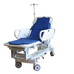 China Medical Furniture Adjustable Portable Patient Crank Manual Hospital Bed
