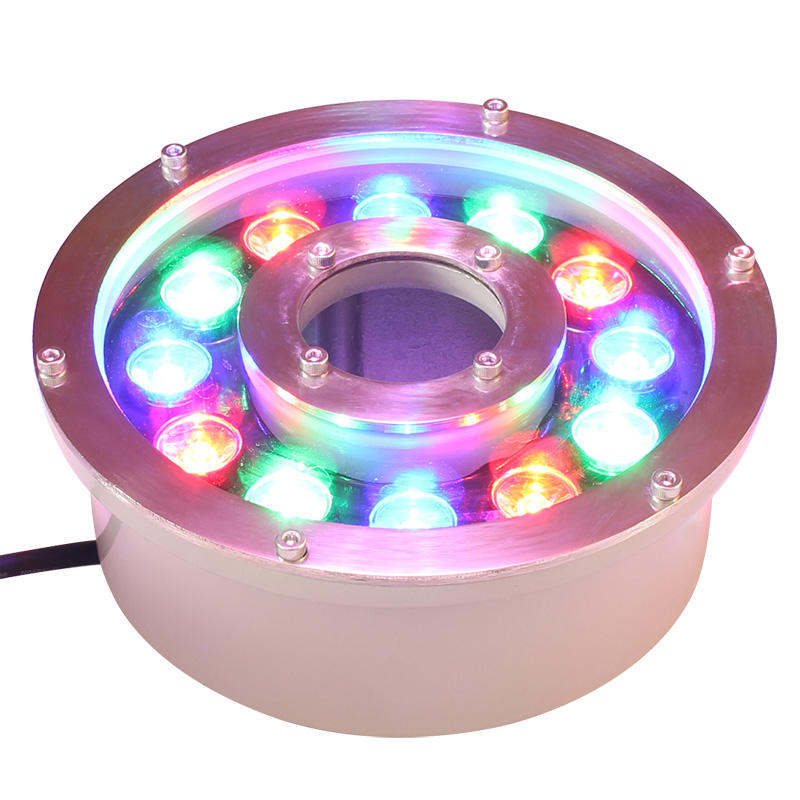 High reputation led fountain ring light led underwater fountain light ip68 submersible fountain led lights