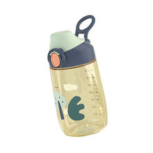 380ML High Quality Drinking Training Bottle PPSU Straw Cup With Handle