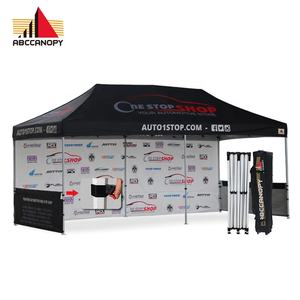 Pop Up Tuinhuisjes en Branded Tenten 3x6 custom pop up tent voor evenementen