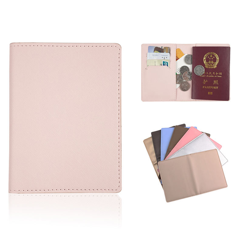 Classic Custom Design PU leather Multi-function Card Set Cover Passport Holder