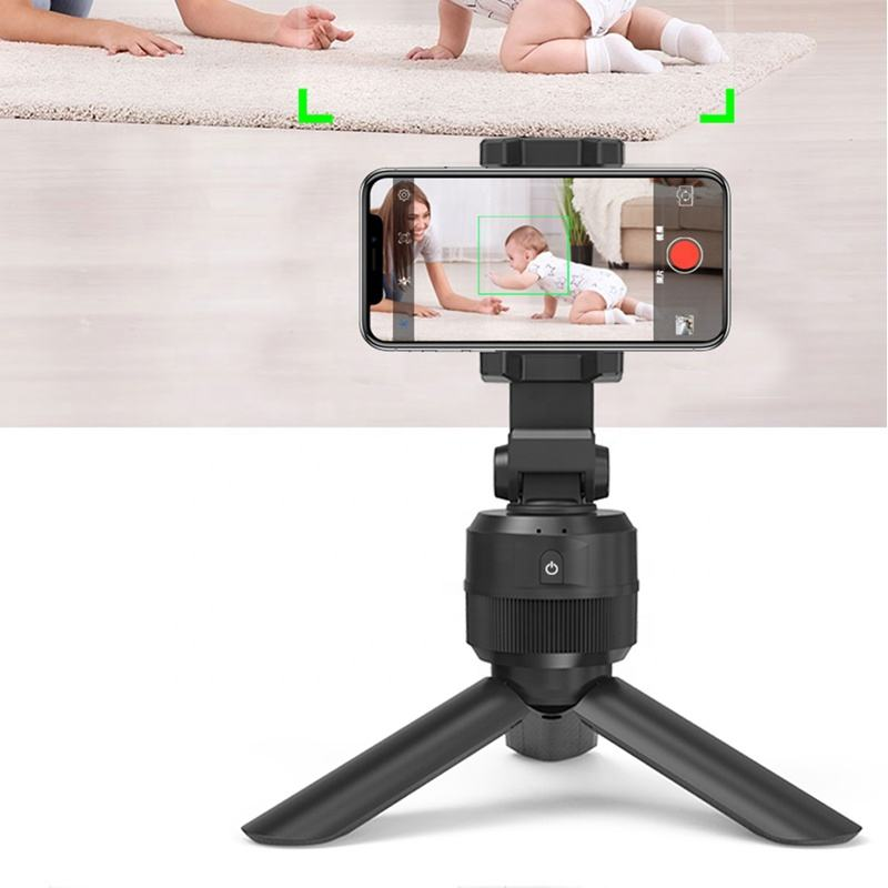 Smart Selfie Stick Shooting 360 Rotation Object Tracking Holder Photo Vlog Live Video Record Smart Face Camera Tracing Holder