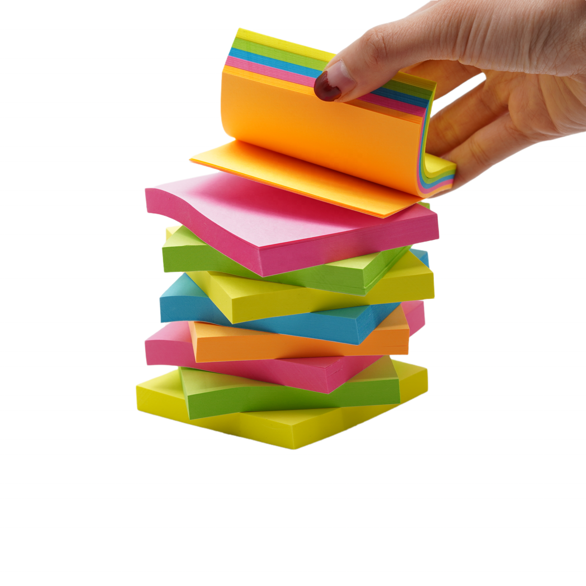 Creative Sticky Notes Memo Pad with Customized Logo