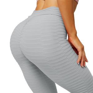 Gym Tights High Waist Scrunch Butt Lift Fold Leggings Gym Fitness Sport Stretchy Women Yoga Pants
