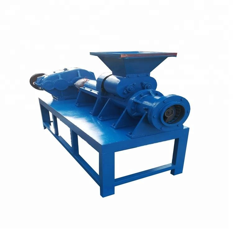 Rice husk wood sawdust charcoal briquette making machine press biomass coal briquette machine