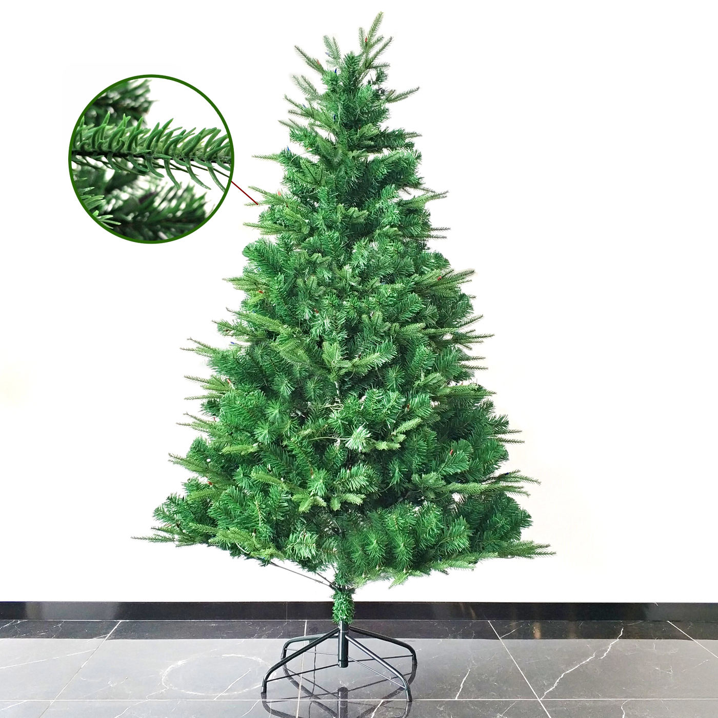 Wholesale PVC 6Ft Color Changing Programmable Led Artificial Christmas Tree For Home Decoration
