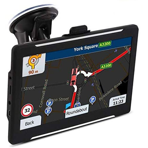 7 Inch Touch Screen Car Sat Nav GPS Navigator System Truck Driver Alerts Smart GPS Navigation With Mexico Canada Maps