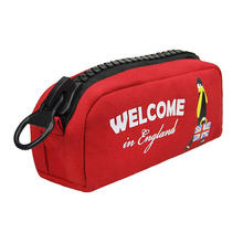 Custom Heavy Duty Water Resistant Personalized Plastic Zipper Dust Storage Cotton Canvas Fbaric Tool Bag Organizer