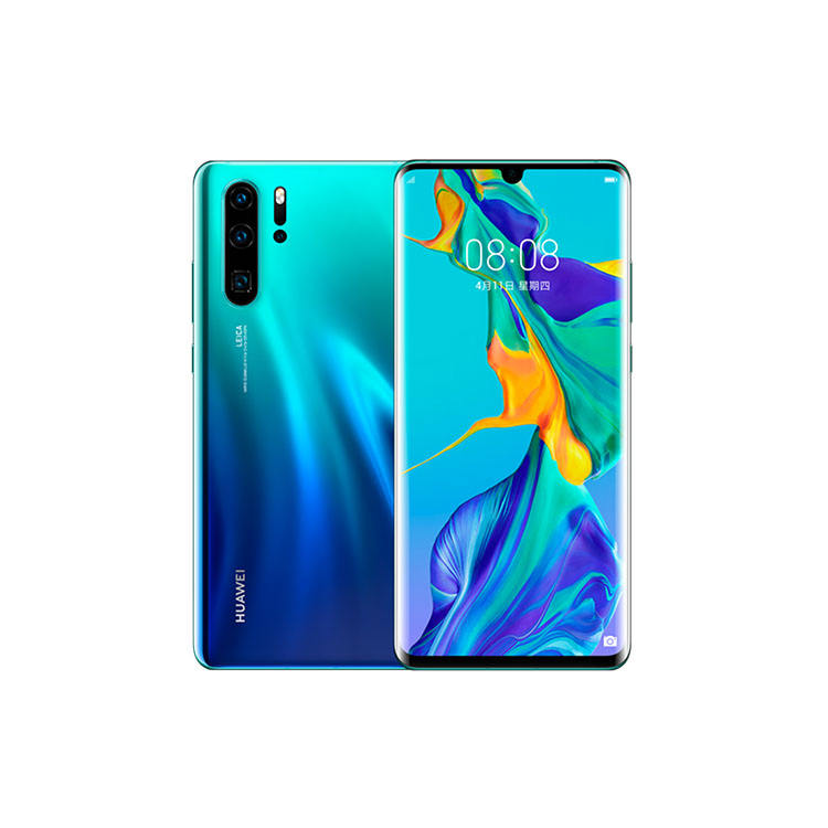 Smartphone 8GB RAM 256GB ROM 6.47 inch 4G GSM Android 9.0 Mobile Phone Original Global Huawei P30 Pro