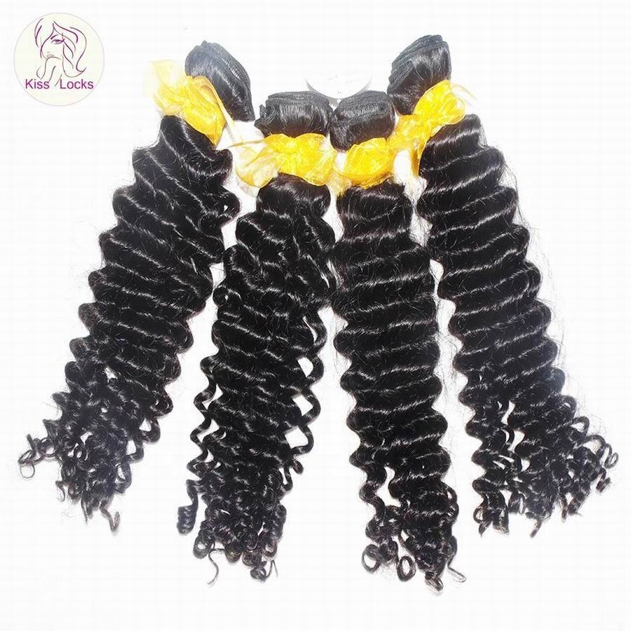 2020 Weave Supplier raw Brazilian pissy curly hair extension Kiss Locks Brand new Unprocessed Hair Wefts Not dealer