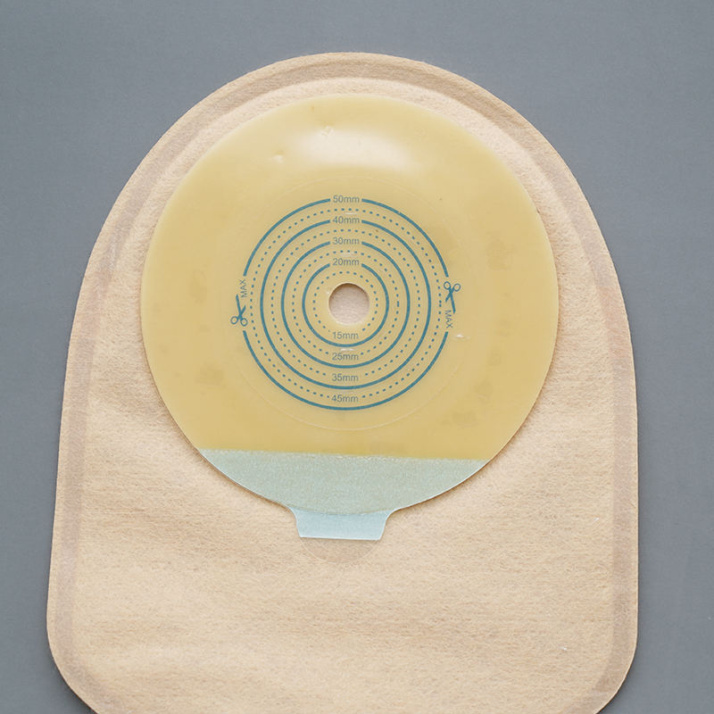 "Colostomy Bag Stoma Pouch Oem One Piece Supplies Cover Paste Attached Belt 70mm 56""mm Pockets Ostomy Bags 56 Mm"