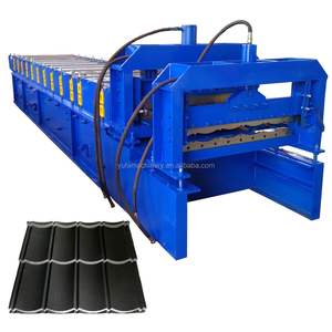 surabaya genteng metal galvanized roof roll forming machine